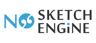 No Sketch Engine logo
